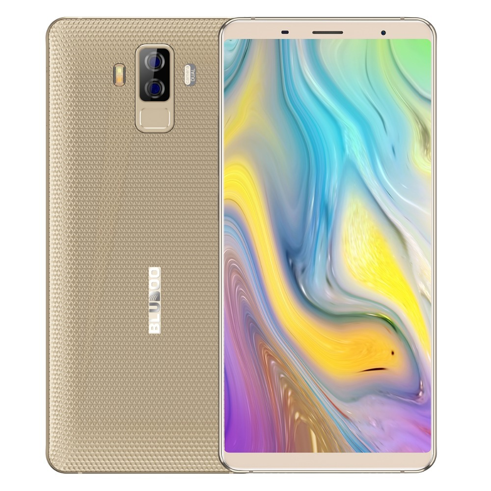 BLUBOO S3 4G Mobile Phone MTK6750T 4GB+64GB Octa Core Android 8.1 Dual Rear Camera 21MP+5MP 4G 8500mAh NFC 6.0 Inch Cellphone