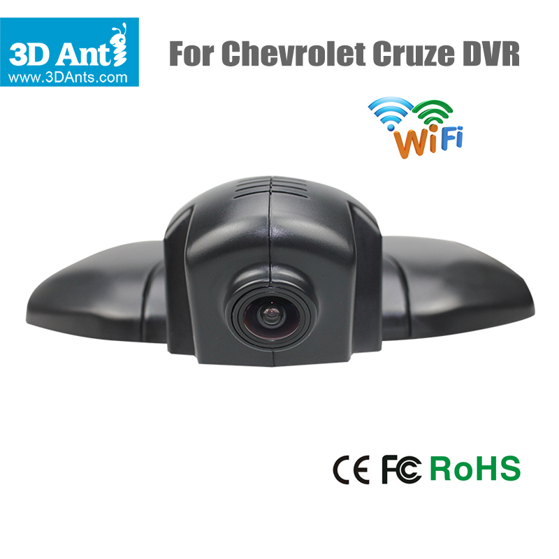 new 1920 1080p car dvr for chevrolet cruze built in wifi car camera support app control with. Black Bedroom Furniture Sets. Home Design Ideas