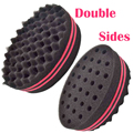 Brush sponge For Natural Hair Afro Curly Weave Dreads Sponge Magic Twist Hair 210043