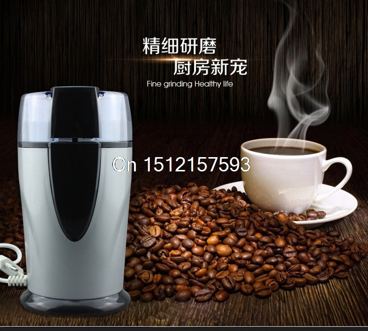 все цены на Electric Coffee grinder 220v-240V ELECTRICAL COFFEE herbs mill beans nuts grinding machine stainless steel blades Euro plug