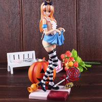 Anime Figure Alice Pumpkin Girl Action Figure LED Lights Detachable Clothes Scale 1/6 Doll Figurine Misaki Kurehito Toy 24.5cm