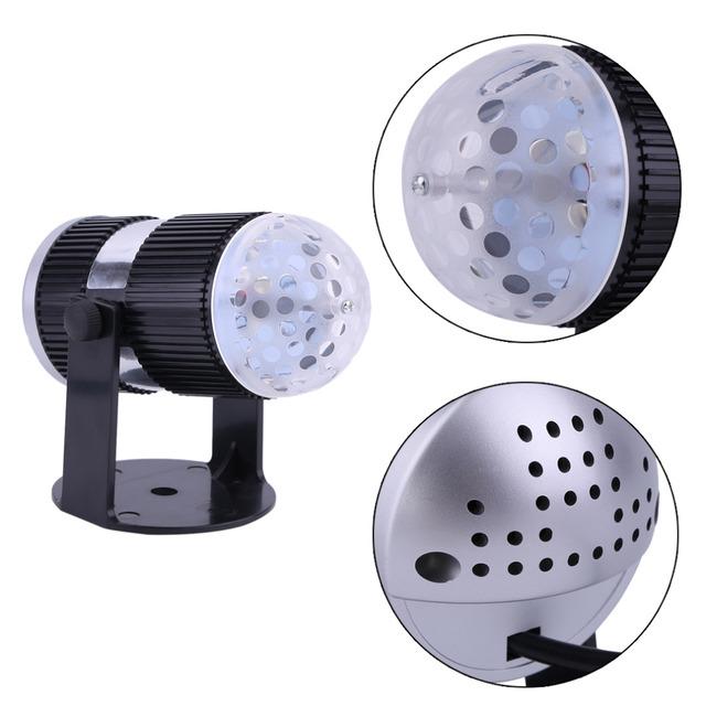 Novelty partido home lâmpada de projeção de luz de controle de voz padrão babysbreath clube do partido decorativa da lâmpada de luz quente