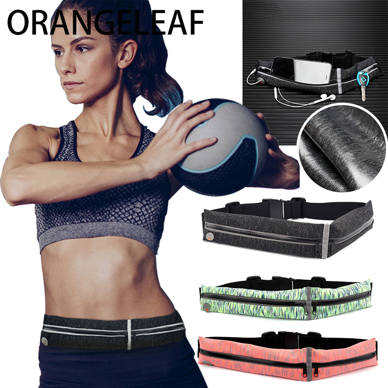 Waist Travel Bag Double Pocket Bag Waterproof Waist Belt Bag Purse Fanny Pack For Women High Quality Fashion Casual Bag