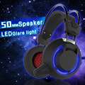 PLEXTONE PC835 Over-ear Game Gaming Headset Earphone Headband Headphone with Mic Stereo Bass LED Light for PC Gamers PS4