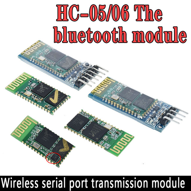HC-05 HC 05 HC-06 HC 06 Không Dây RF Thu Phát Bluetooth Nô Lệ Mô Đun RS232/TTL sang UART chuyển đổi và adapter