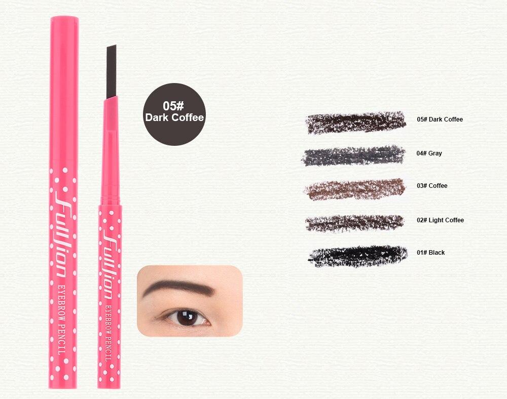 Generic 1 Pcs Waterproof Longlasting Eyebrow Pencil beauty paint for