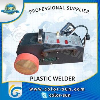 2017 New Hot sell intelligent Banner welder machine for melting PVC PE Plastic material