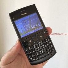 Nokia Desbloqueado Original Nokia X2-01 X2-01 Telefone Symbian os Móvel Refurbished Celular Frete grátis