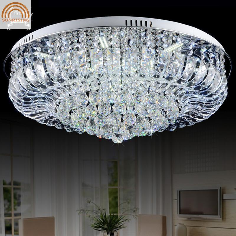 Best selling crystal lustres de luminaras para sala Modern fashion k9 crystal chandelier home deco lighting shipping shipping