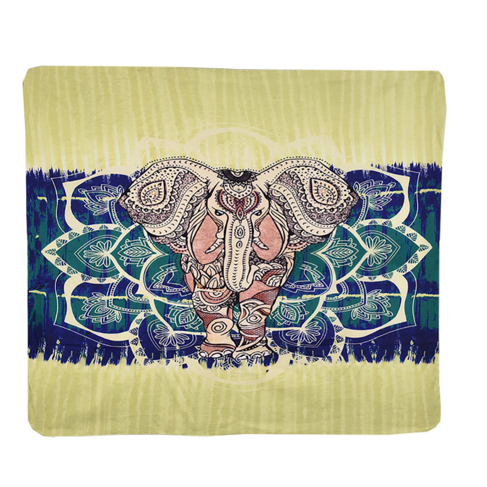 Indian Style Beach Towel Printed Home Tapestry Hanging Wall ...
