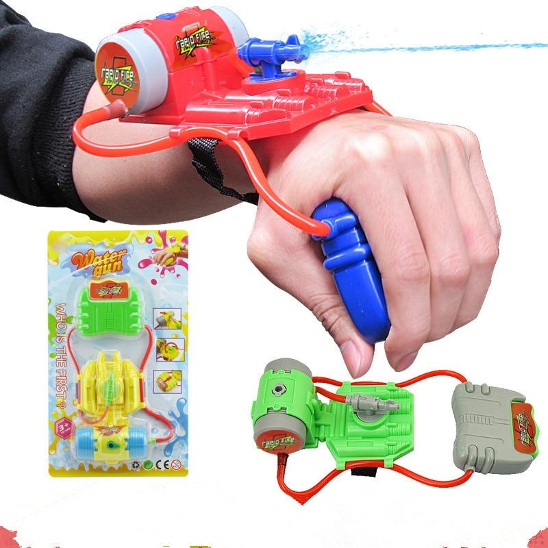 YS Plastic Wrist Water Gun Outdoor Toy Gun Water-Sprinkling Simba Water Pistol Shooter For Swimming Pool And Beach