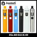 100% Original Joyetech ego AIO D22 XL Starter Kit 2300mah Battery 4ml Ego Tank All In One Electronic Cig Vaping Pen