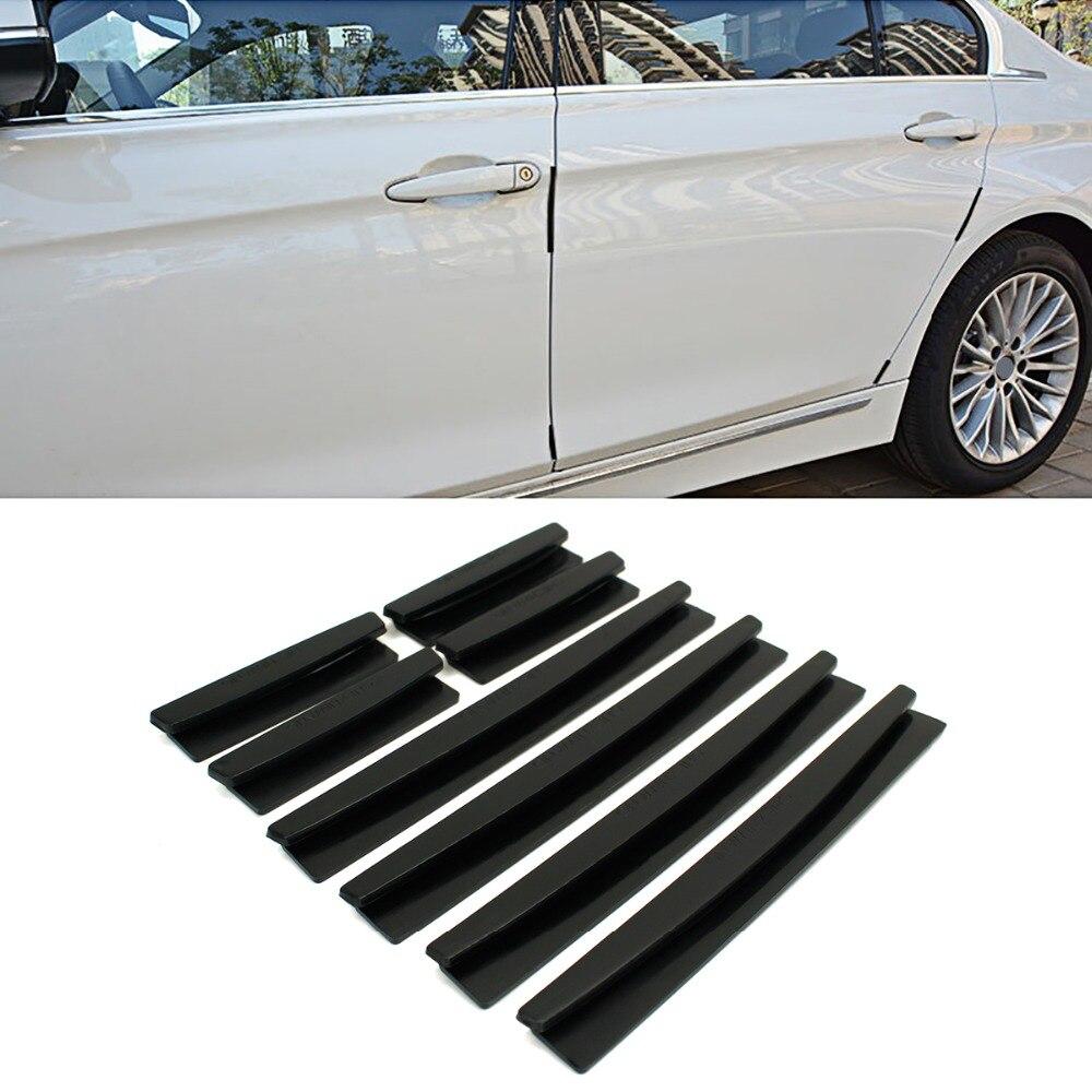 8pcs Car  Door Protector Edge Guard Anti-scratch Rub Strips Bumper Accessories