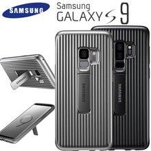 Samsung Galaxy S9 защитный чехол стоя крышка чехол для телефона 360 Оригинал прочный защитный чехол Стенд samsung S9 Plus