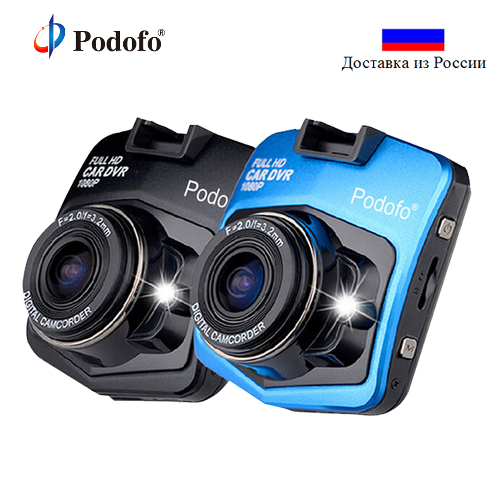 Podofo A1 Mini Voiture Dvr Caméra Dash Cam Full HD 1080 p Enregistreur Vidéo Registraire de Nuit Vision Véhicule Blackbox Carcam dash Caméra
