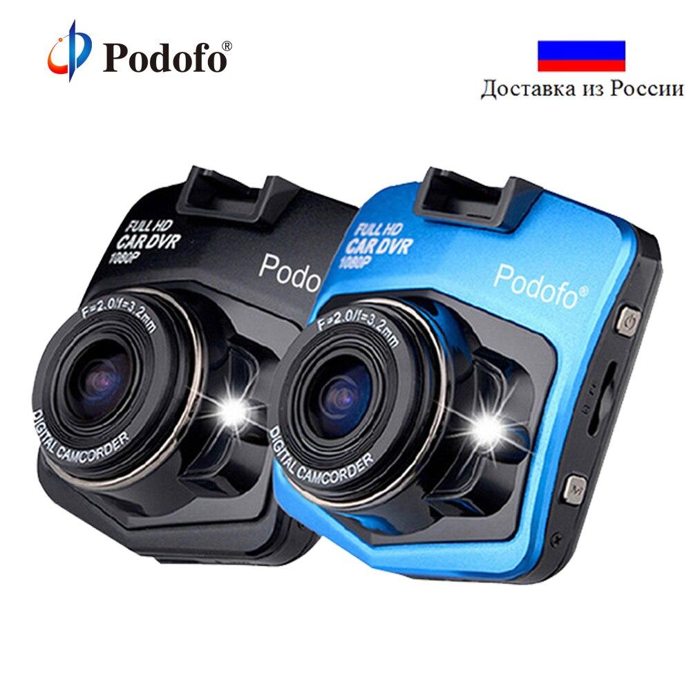 Podofo A1 Mini coche Cámara DVR Dash Cam Full HD 1080 p Video Recorder registrador visión nocturna de la caja negra del vehículo Carcam dash Cámara