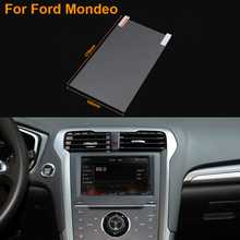 Car Styling 8 Inch GPS Navigation Screen Steel Protective Film For Ford Mondeo Control of LCD Screen Car Sticker