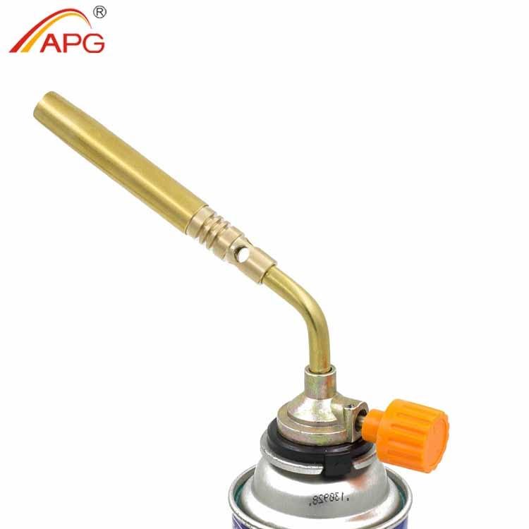 APG-butaancassette Vlampistool met hoge temperatuur 1350 graden gasfakkelbranders