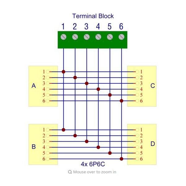Rj11 To Rj45 Wiring Diagram 144 Breakout Download Wiring Diagram