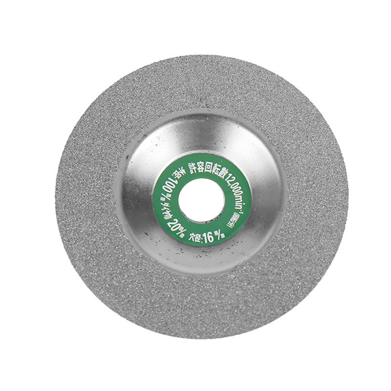 1 Pcs 100mm Diamond Saw Blades Disc Wheel Glass Ceramic Cutting Wheel For Angle Grinder TB Sale