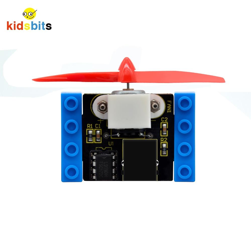Kidsbits Blocks Coding L9110 Motor Fan Module  For Arduino STEM