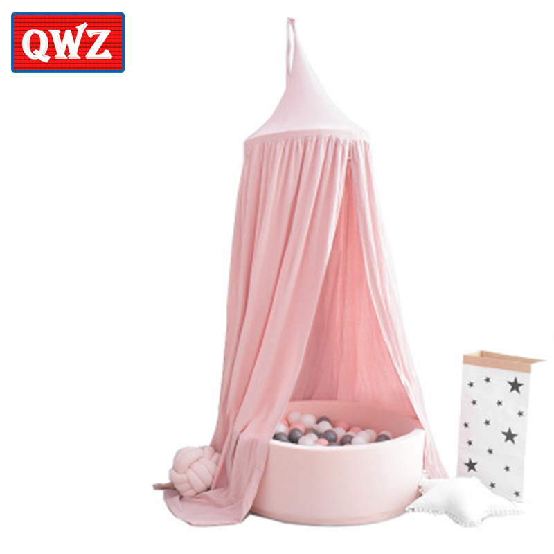 QWZ Nordic Style Childrens Tent Game House Dome Bed Book Tent Ocean Pool Indoor Games Children House Tent