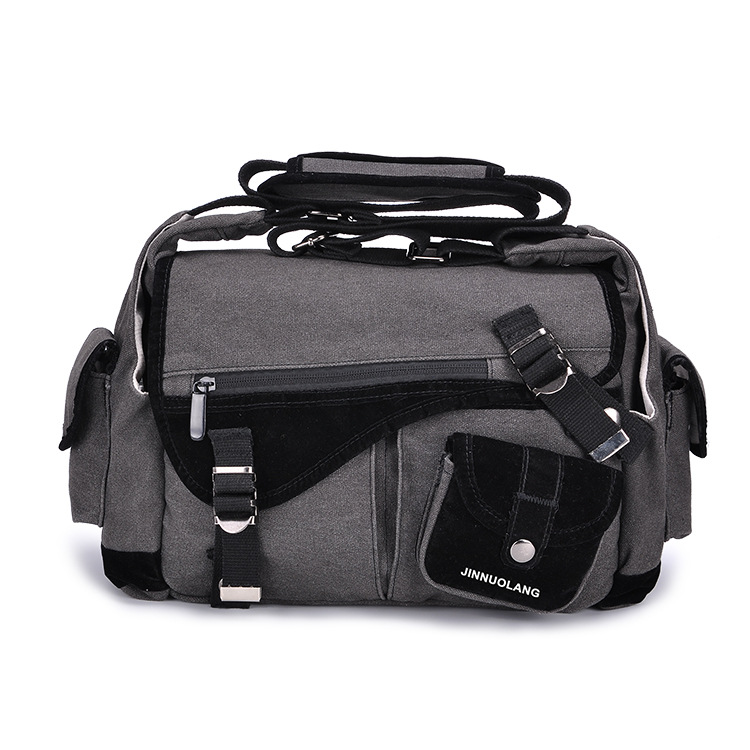 Professional Waterproof Camera Bag Wear Digital Camera Bag Canvas Shoulder Diagonal Package with Tripod For Nikon Canon SONY
