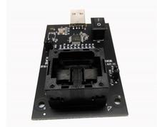 eMMC100 to USB interface test seatscoket BGA100 test chip adapter Pitch 1.0mm 88pin Size: 12 * 18,14 *18
