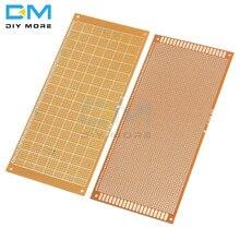 10x22 см 10*22 см 10x22 DIY бакелитовая пластина бумага Прототип PCB Универсальный Эксперимент Матрица доска односторонний лист Медь 10x22