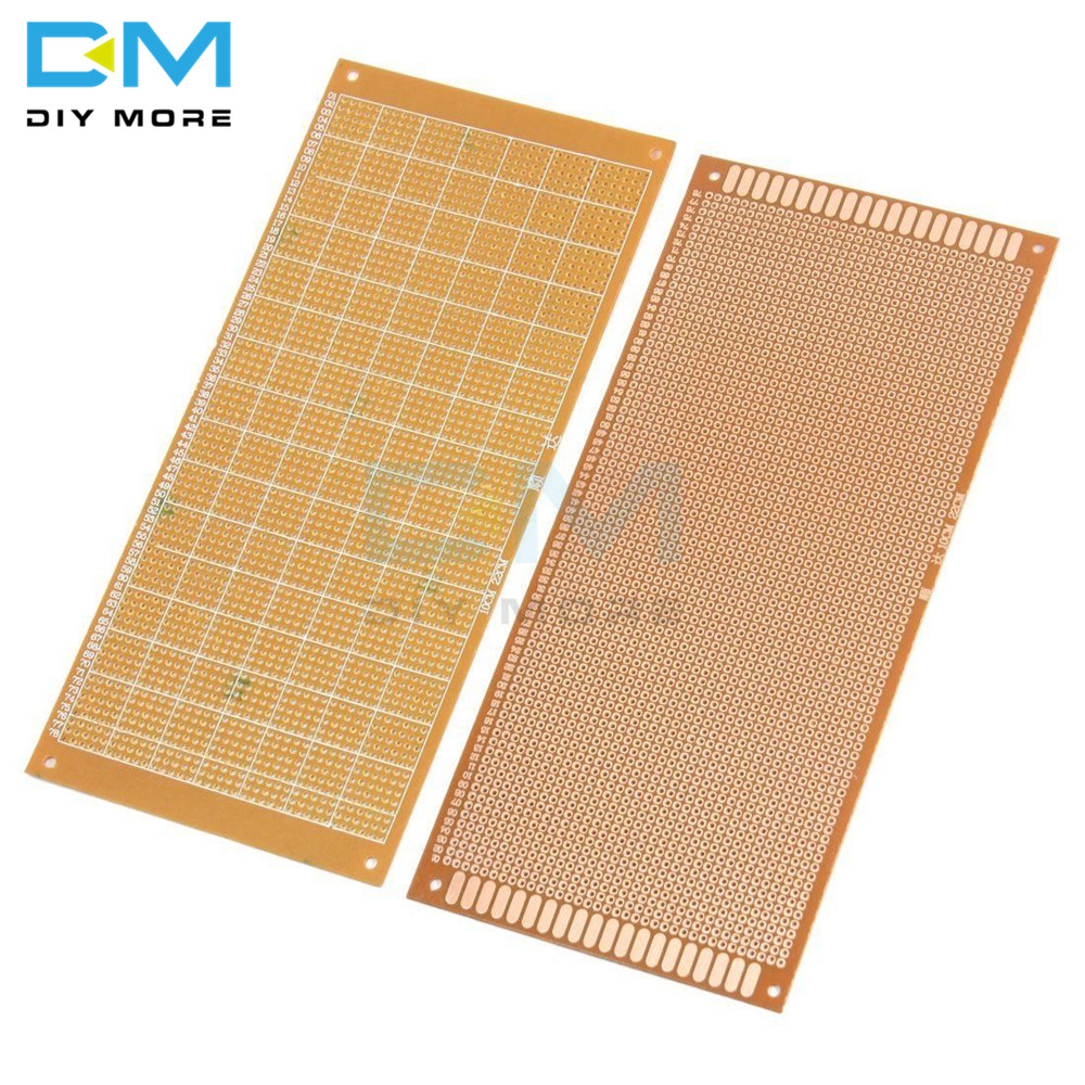 10x22cm 10*22CM 10x22 DIY Bakelite Plate Paper Prototype PCB Universal Experiment Matrix Board Single Sided Sheet Copper 10 X 22