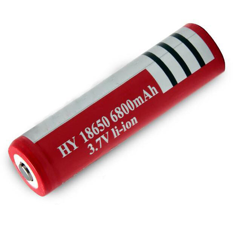 High-Capacity Rechargeable Batteries 6800mAh 8650 3.7V Lithium Batteries