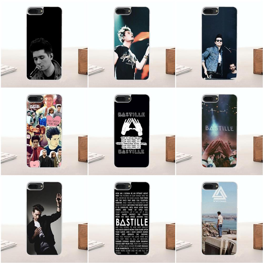 Cell Phone Accessories Active Rock Band Indie Concert Metal Clear Phone Case Cover Fits Iphone 5 6 7 8 X