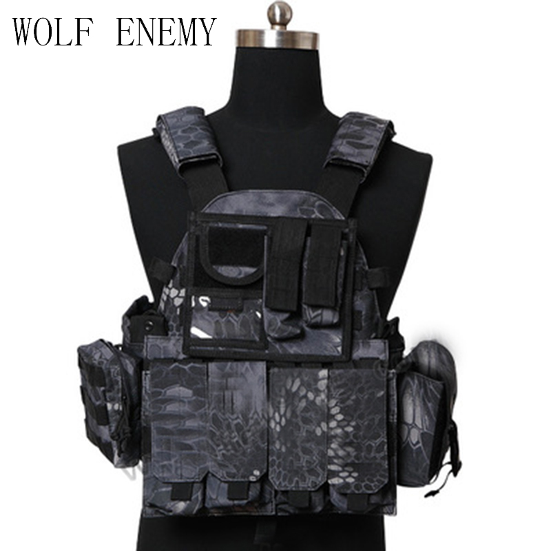 1000D Nylon US Navy Seals Molle LBT 6094 Vest Tactical Military Hunting Paintball CS Wargame Protective Vest w/Pouches barbour hackamore vest navy