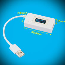 New Brand Useful USB Charger Mobile PC Battery Capacity Power Mini Voltage Current Tester Meter