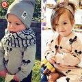 Primavera/Otoño Bebé Niños Mickey de La Historieta Deporte Chándales 2 unids casacos Outfit Niños Ropa Set sudaderas + pantalones