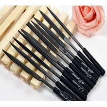 10Pc Needle File Set Files For Metal Glass Stone Jewelry Wood Carving Craft Tool P0.05(China)