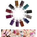 12 Color Tiny Bottle Caviar Bead Nail Art Set Mini Round Pearls for French Acrylic UV Gel Tips 3D DIY Decoration
