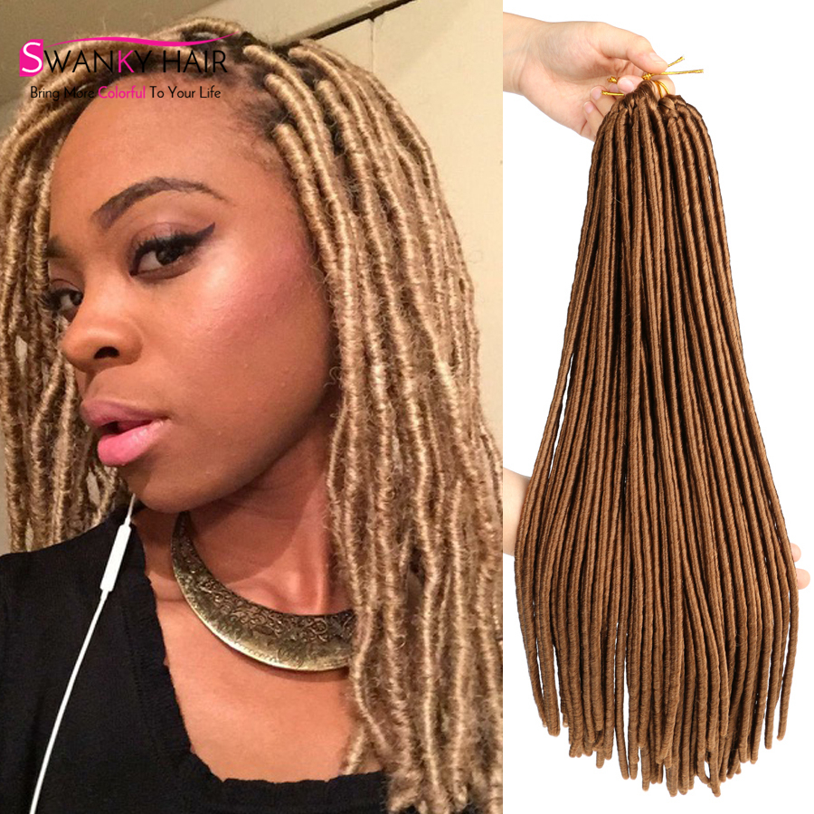 Artificial Dreadlocks Hairstyles For Women