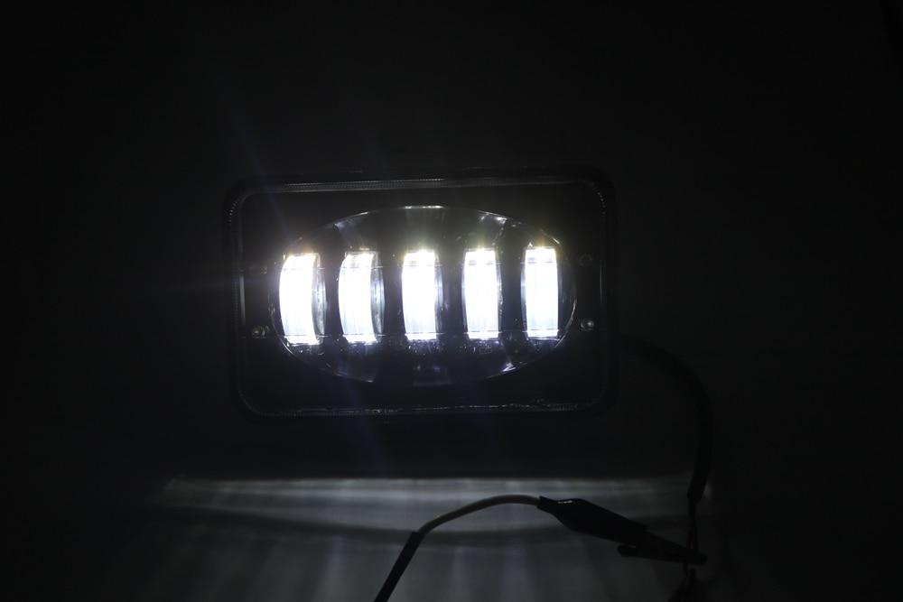 24v lâmpada de trabalho 50w 6 polegada