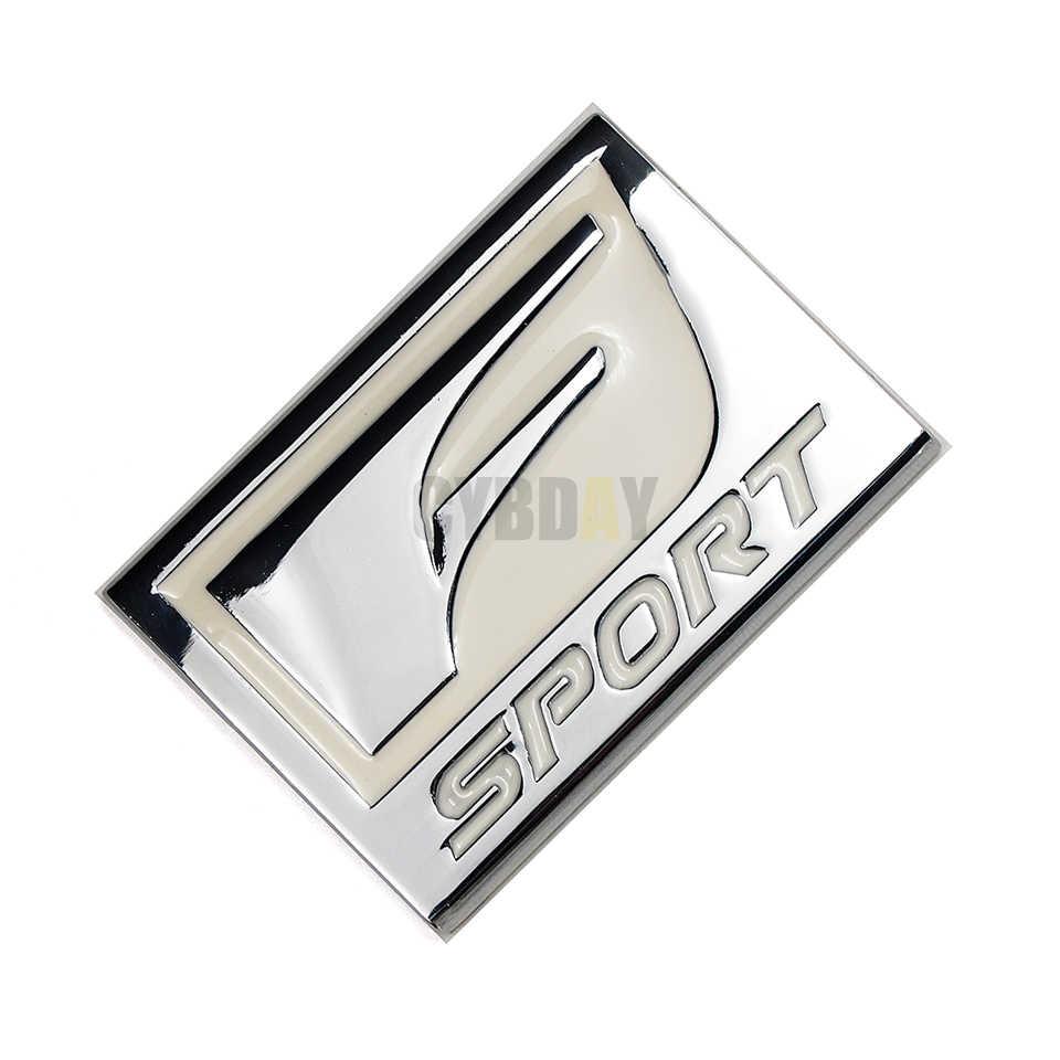 F SPORT 3D Logam Lencana Decal Belakang Lambang Stiker Mobil Styling untuk Lexus Adalah ISF GS RX Ialah IS250 ES350 LX570 GS CT200 CT200H