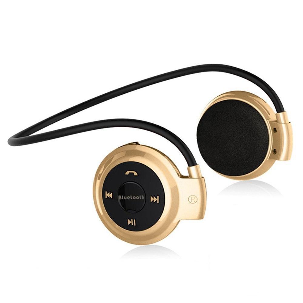 NVAHVA Stéréo Sans Fil Casque Lecteur MP3, sport Bluetooth Casque Avec FM Radio Carte MP3 Lecteur Pour iPhone Android Téléphone TV
