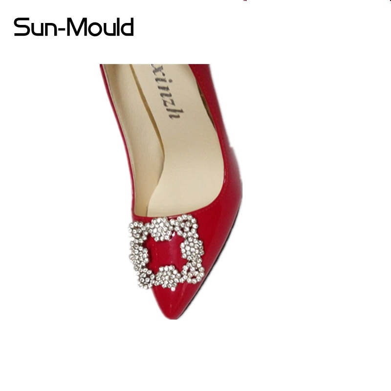 2pcs(one pair) shoes flower charms daily shoes high-heel pumps fashion bag crystal diamond shoe clips wedding decoration buckle