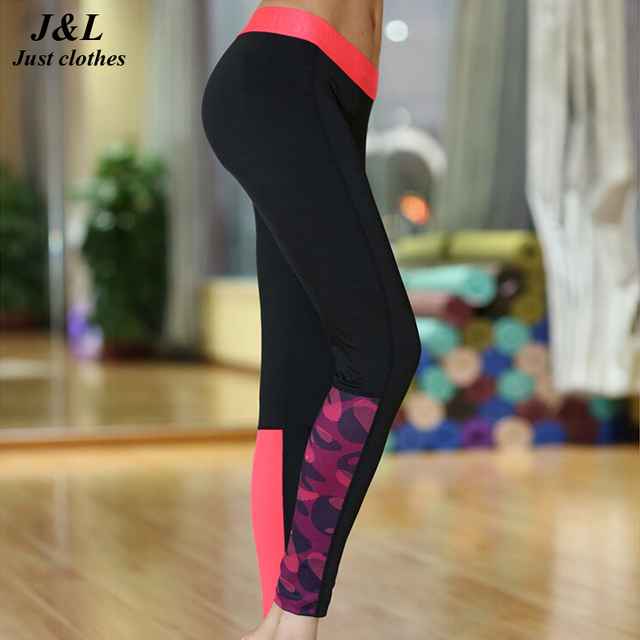 Black Plum Patchwork Sporting Leggings Women Sexy Fitness Pants,3 Styles Printed Wicking Elastic Slim Jeggings Ropa Mujer