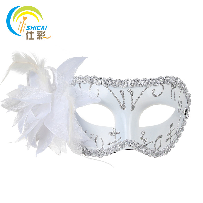 40pcs Venice Flat Mask Masquerade Halloween Christmas Party Awesome Half Masks To Decorate