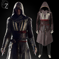New Arrival Movie Assassins Creed Costume Callum Lynch Costume Deluxe Outfit Halloween Cosplay Costumes for Men