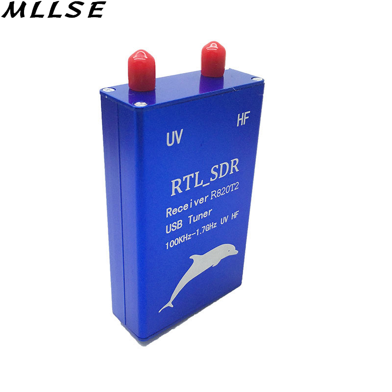 100KHz 1 7GHz Full Band Software Radio RTL SDR Receiver RTL2832U R820T2 Aeronautical Band TV Receivers in Satellite TV Receiver from Consumer Electronics