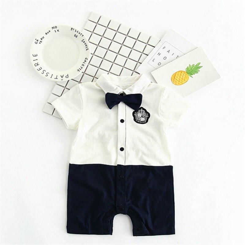 TONGMAO Brand Newborn Baby Boy Pajacyki dziecięce Gentleman ubrania - Odzież dla niemowląt - Zdjęcie 3