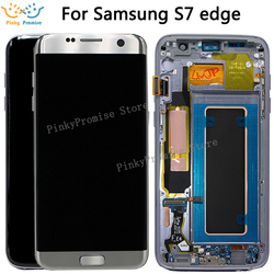 For SAMSUNG GALAXY S7 EDGE G935 G935F LCD Display Touch Screen Digitizer 5.5 For Samsung S7 Edge G935 LCD Pantalla Replacement