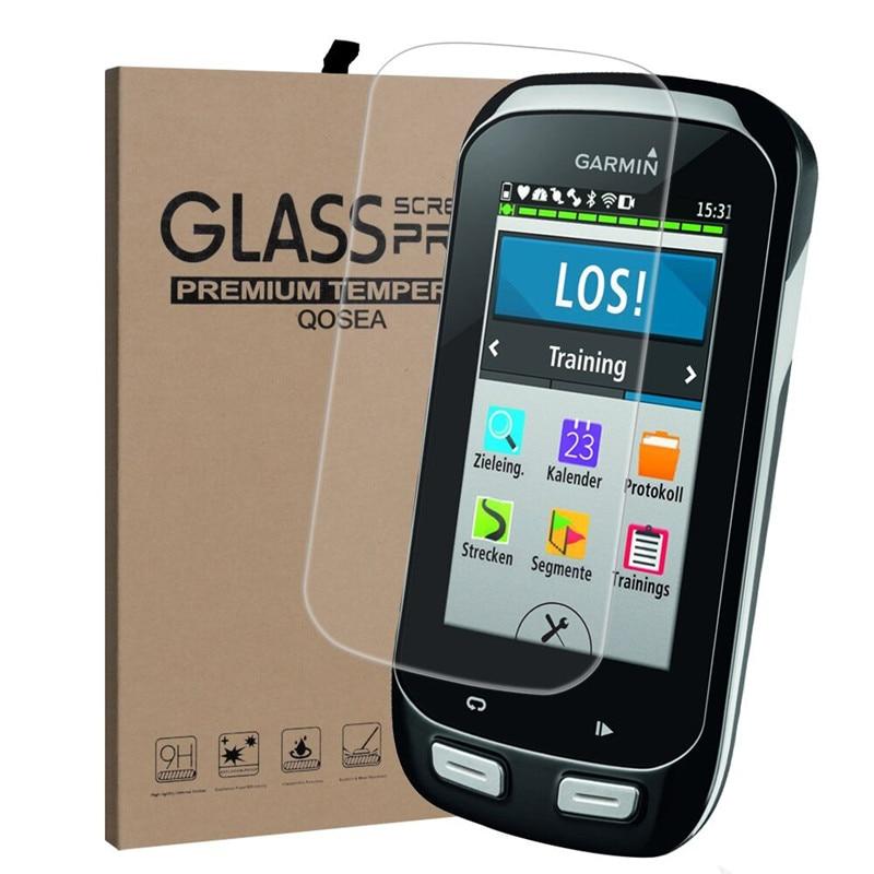 Qosea For Garmin Edge 1000 9H Surface Hardness Tempered Glass Ultra-thin For Garmin Edge 1000 High Quality Screen Protector Film