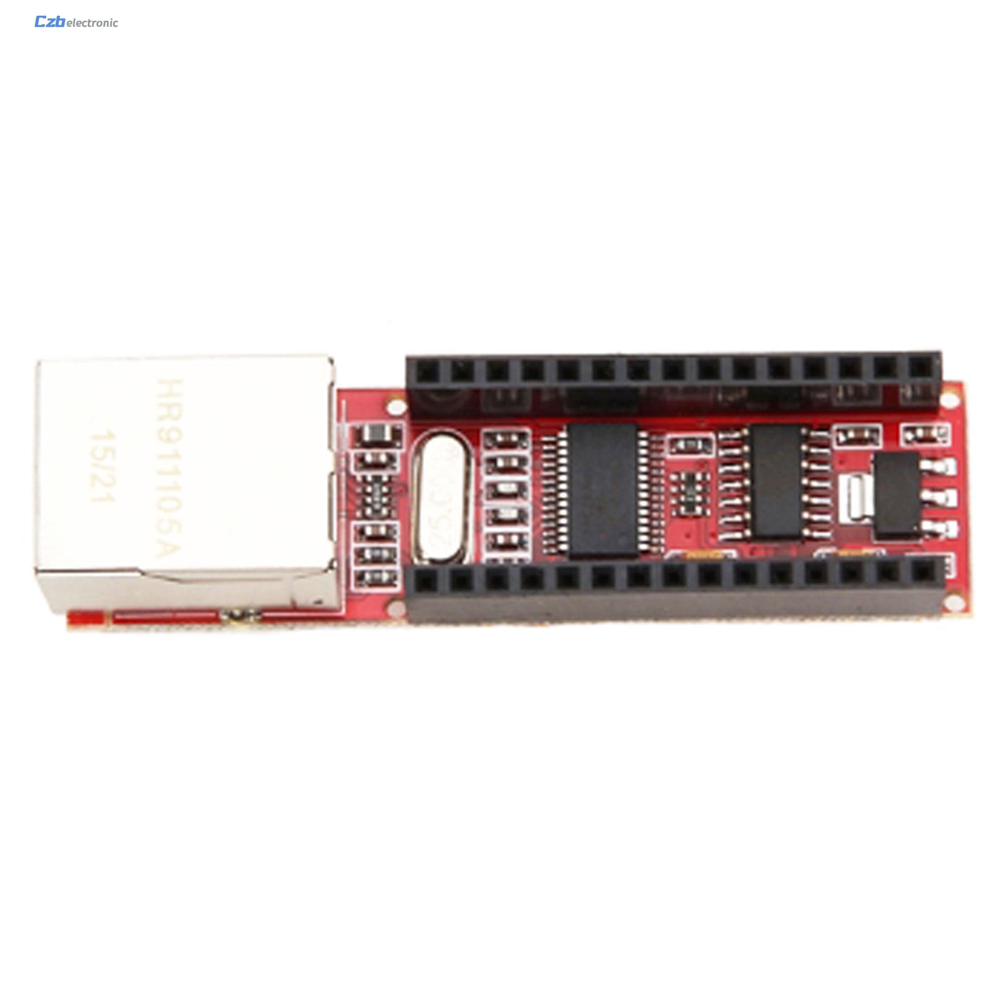 Shield Board For Arduino Nano v3 0 Mini ENC28J60 Microchip